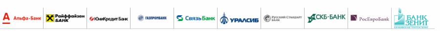 банки партнеры бинбанка